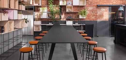 Tischsystem mit Spannweiten bis zu 4 Meter