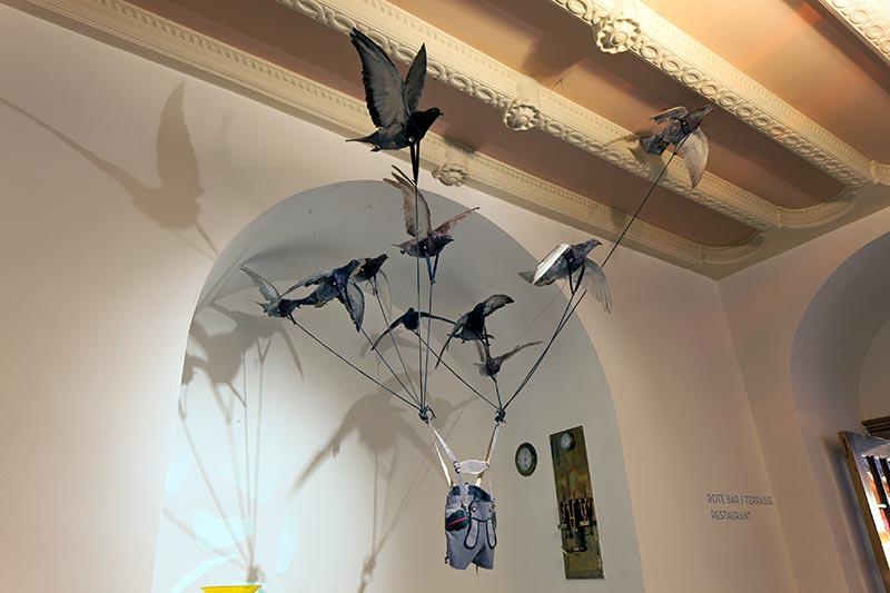 Kunstinstallation von Carsten Höller