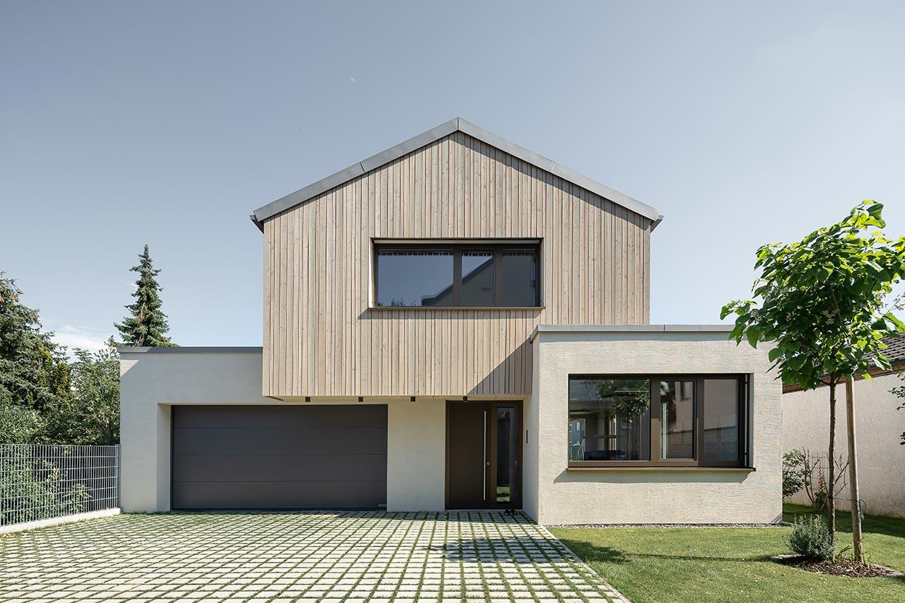 Cooler Beton trifft warmes Holz