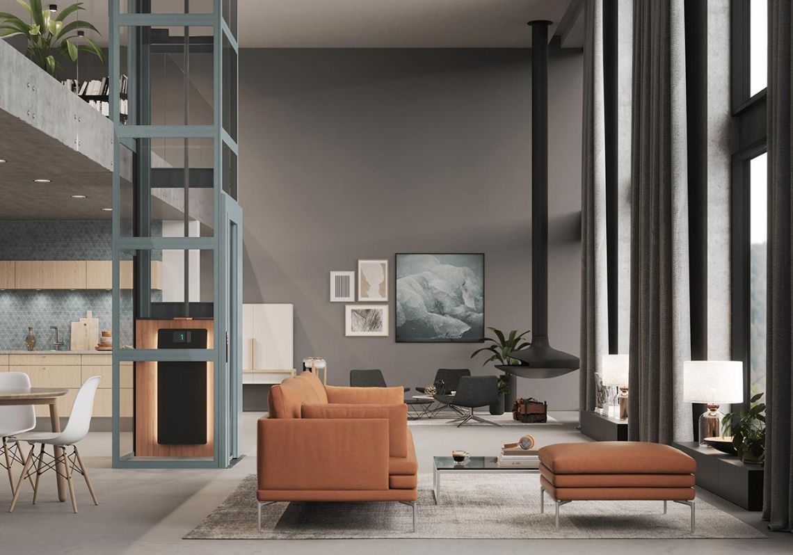 Homelift Cibes Air mit innovativem Design