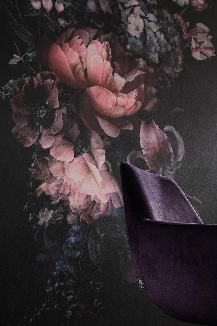Tapeten wie gemalt. So schön wie das Werk eines niederländischen Meisters in dunklen Farben. Kollektion: Schöner Wohnen new spirit. Bildquelle: DTI/ marburg