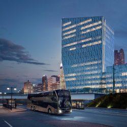 Reisebus-Doppeldecker für den Einsatz in ganz Europa