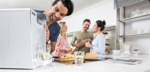 Wasserspender für kühles Trinkvergnügen