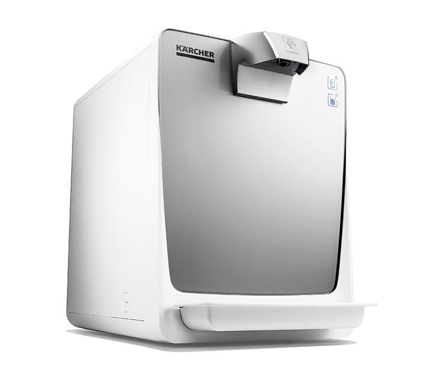 Der neue leitungsgebundene Wasserspender WPD 50 Ws von Kärcher ist kosteneffizient und lässt sich einfach bedienen, reinigen und warten.