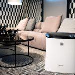 Kompakter und effektiver Luftreiniger