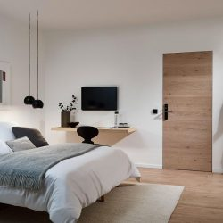 Wohnungseingangstür für Architekturliebhaber
